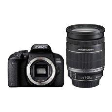 Canon EOS 800D + EF-S 18-200mm F3.5-5.6 IS Juego de Cámara SLR 24.2MP CMOS 6000 x 4000Pixeles Negro - Cámara Digital (24,2 MP, 6000 x 4000 Pixeles, CMOS, Full HD, Pantalla Táctil, Negro)
