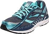 Brooks Dyad7 W 1201151B944, Damen Sportschuhe - Running, Schwarz (Pale Blue/Black), 38 EU / 5 UK
