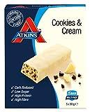 Atkins Barrita Advantage Cookies & Cream Barritas - Paquete de 5 x 30 gr - Total: 150 gr