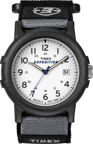 Timex Expedition T49713 Orologio Analogico da Polso da Uomo, Bianco/Nero