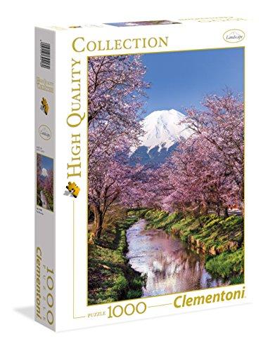Clementoni - 39418 - High Quality Collection Puzzle - Fuji Mountain - 1000 Pezzi