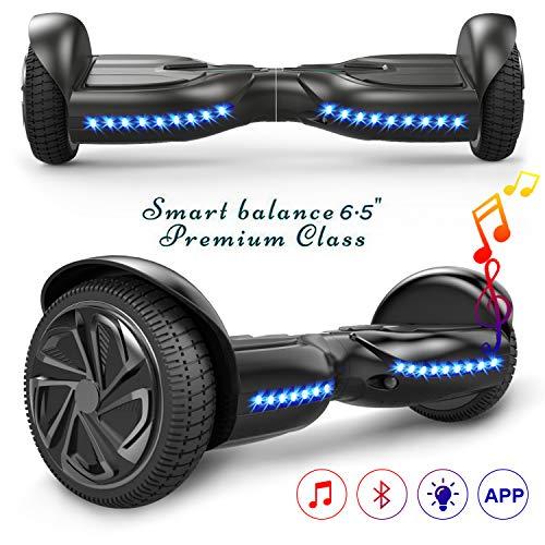 Hover board scooter 6.5',con bluetooth, Self Balance Scooter elettrico, monopattino elettrico