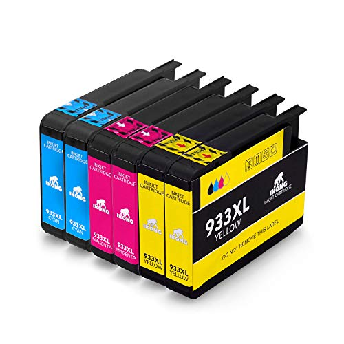 IKONG 933XL Alta capacità Cartucce d'inchiostro Sostituzione per HP 932 933 Compatibile con HP...