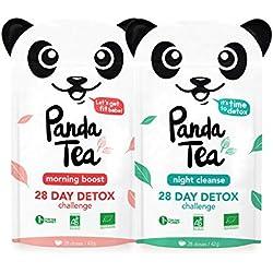 Panda Tea 28 jours Challenges 56 sachets
