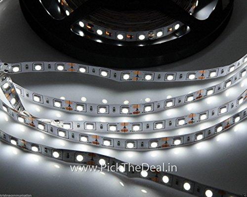 K3 Warm White 5 Meter Led SMD Strip Light 5050 60 Led/Meter 12V Dc Non Waterproof