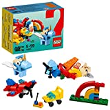 LEGO Build - Arcoíris de Diversión, Juguete de Construcción Creativo con Bloques de Colores (10401)