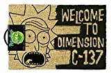 Close Up Zerbino Rick And Morty - Welcome to Dimension C-137