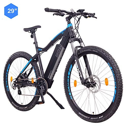 NCM Moscow Bicicletta elettrica Mountainbike, 250W, Batteria 48V 13Ah 624Wh (Nero 29')