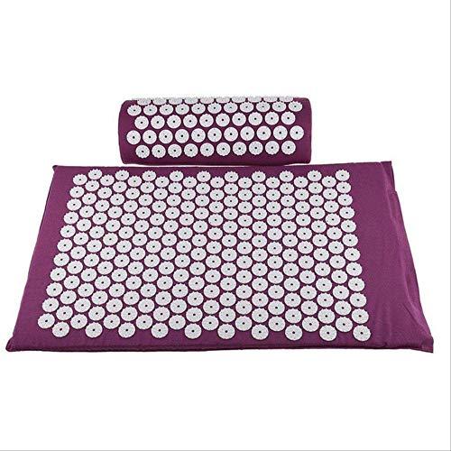 QNH Tappetino per massaggio digitopressione Massaggiatore Tappetino Shakti Allevia tappetino...