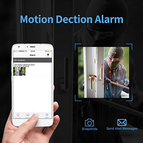 Caméra Espion Cachée AOBO Mini WiFi Cam HD 1080P Vision Nocturne avec Détection de Mouvement Caméra de Surveillance de Sécurité, Enregistreu... 8