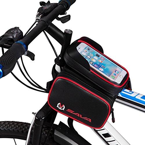 Sac-de-GuidontuiHousse-Impermable-Portable-Sacoche-vlo-Cyclisme-Bicycle-Smartphone-cran-Tactile-62-Pouce-pour-VTT-Vlo-de-Route-Vlo-de-Ville-Vlo-Pliant-etc