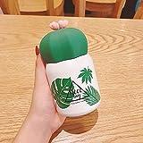 Taza Mug Cactus Portátil Para Estudiantes Excelente Como Regalo