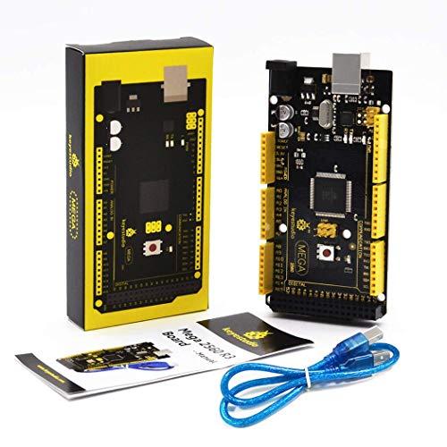 KEYESTUDIO MEGA 2560 R3 Controller Board + cavo USB compatibile per arduino MEGA 2560 R3