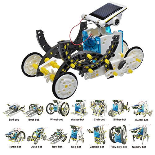 51qzPv5oEhL - JEEMAK 14-en-1 para la Educación Solar Robot Kit