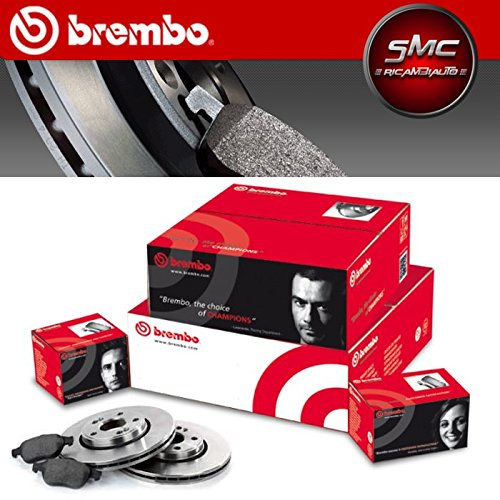 SMC 08.9502.10 & P85020-3 Kit Dischi Freno Brembo e Pastiglie Posteriore