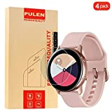 PULEN [4-Unidades] Samsung Galaxy Watch Protector de Pantalla,Vidrio Cristal Templado [antihuellas] a los arañazos HD para Samsung Galaxy Watch Active
