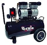 Cevik Pro24silenc Compresor silencioso portátil 24 litros 1.5hp. Ideal para trabajos de interior y...