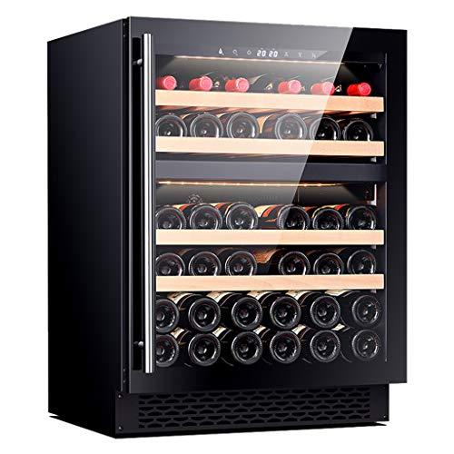 Sonw Yang Raffreddatore di vino termoelettrico a doppia zona con controllo della temperatura a...