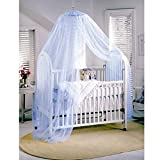 butterme–Mosquitera Red mosquitera Baby Toddler Mosquitera para camas infantiles dosel de cama Azul azul