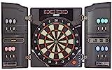 Best Sporting elektronische Dartscheibe OXFORD 2.0, LED Dartautomat Kabinett mit 12 Dartpfeilen, Ersatzsspitzen und Netzteil