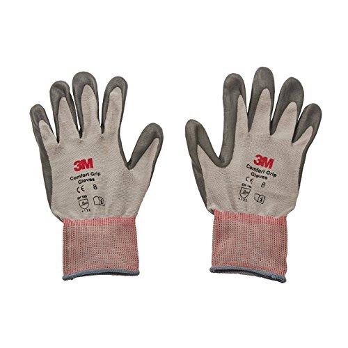 3M Comfort Grip Guanti CGM-GU, uso generale (L, grigio)