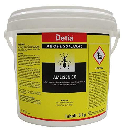 Detia ANT EX diffusa per la rimozione delle 5kg anti-formiche + 1paio di guanti usa e getta