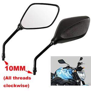Vize Rückspiegel seitlich Spiegel Universal Motorrad 4