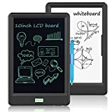 NEWYES LCD Writing Tablet 10 inch , Writing Board Electronic Doodle Drawing Tablet with Lock Key Double Sided Use Brighter Screen for Kids Family Office(Black)
