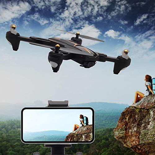 iBellete Drone quadricottero con Camera(1800mAh) - VISUO XS812 2 Milioni di Pixel + Trasmissione Immagine 5G WiFi + GPS Antenna RC Drone