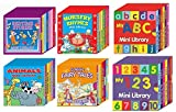 6 Mini Library Board Books - Special Bumper Gift Pack - Mini Library Board Books Pack for Children, Toddlers, Babies - Bedtime Board Book - Nursery Rhymes Board Book - Fairy Board Book - Animals Board Book Mini Library - ABC Mini Library - 123 Mini Library Whopping <36> Board Books Collection Set RRP £24.00 - Yours for The Massive Value of Just £9.99 - While Stock Lasts!