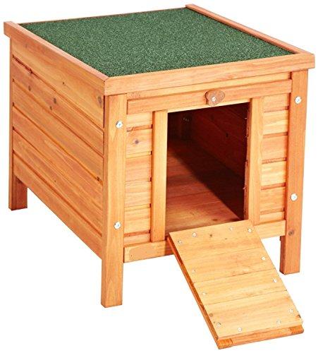 VivaPet Gato/Perro/Conejo/Guinea Pig de Madera Hide casa–50x 42x 43cm