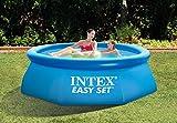 intex easy set aufstellpool mit filteranlage beispiel
