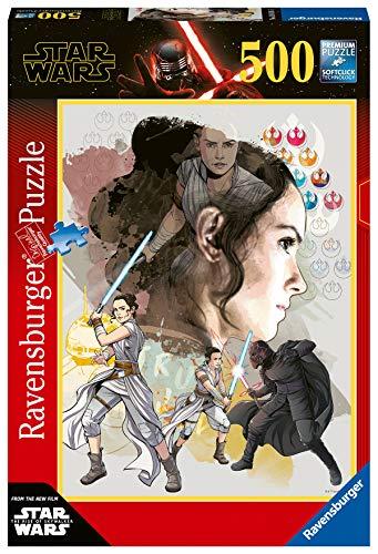 Ravensburger Star Wars 9 B, Puzzle 500 Pezzi, Multicolore, 14816