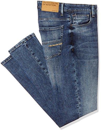 United Colors of Benetton Men's Slim Fit Jeans (18P4L23R8118I_Blue_38)