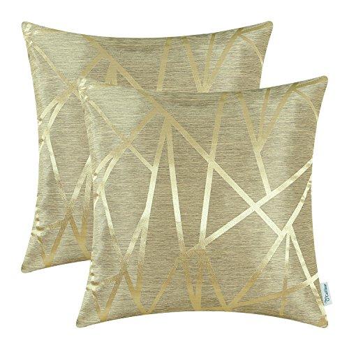 CaliTime - Confezione da 2 federe per cuscini da divano, decorazione per la casa, stile moderno,...