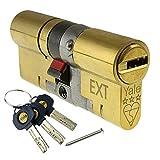 35/35 (70mm) Brass YALE Platinum 3 Star Euro Cylinder Anti Snap Bump High Security uPVC Door Barrel TS2007:2013 Lock