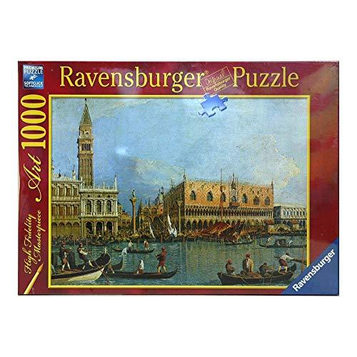 Ravensburger 15402 Canaletto: Palazzo Ducale Puzzle 1000 pezzi Arte