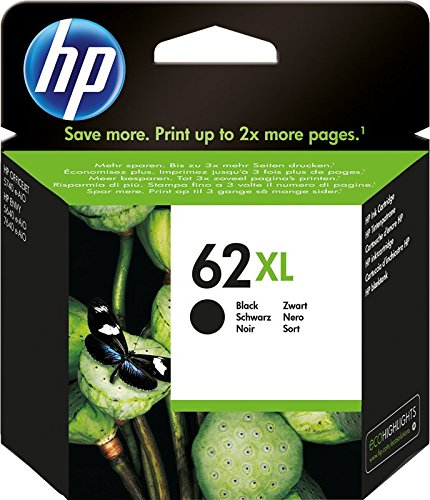 HP 62XL C2P05AE Cartuccia Originale per Stampanti a Getto d'Inchiostro, Compatibile con Stampanti...