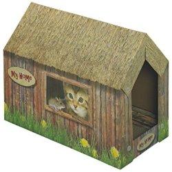 katzeninfo24.de Nobby 71993 Katzenhaus aus Karton