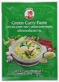COCK Currypaste Grün, sehr scharf, authentisch thailändisch Kochen, natürliche Zutaten, vegan, halal und glutenfrei (6 x 50 g)
