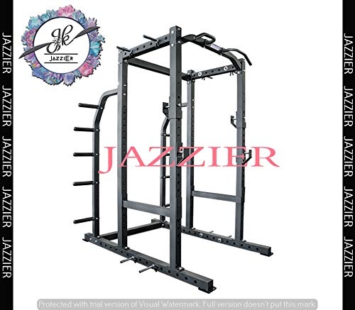 Jazzier Power Squat Rack Square Pipe PR-08