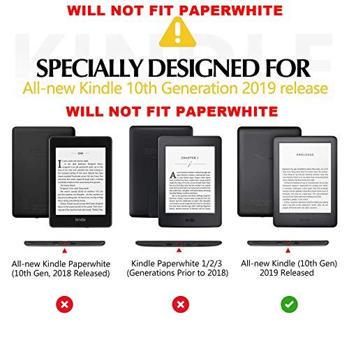 "ProElite Deer Smart Flip case Cover for All Amazon Kindle 6"" 10th Generation 2019 [Wine Red] 2  ProElite Deer Smart Flip case Cover for All Amazon Kindle 6″ 10th Generation 2019 [Wine Red] 51sK1Nb2uZL"