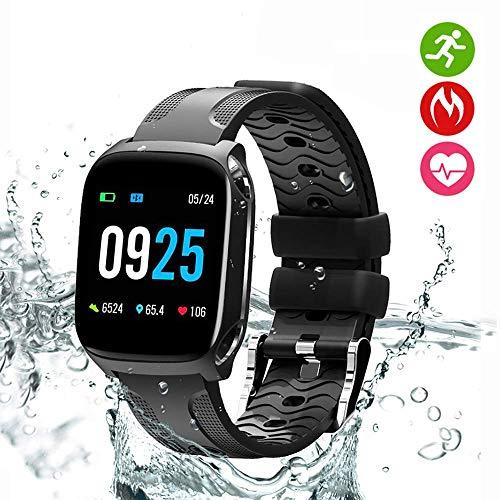 YLJYJ Fitness Tracker, Pressione Sanguigna Orologio Cardiofrequenzimetro da Polso Smartwatch Donna...