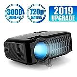 Mini Proiettore, ABOX A2 Videoproiettore Portatile Nativa HD 1280*720p?1080p Supporto) 176 '' Display Aumento del 60% di Luminosità per Casa e Viaggio, Compatibile con Fire TV Stick / PS4 / TV Box/Cellulare/Micro SD