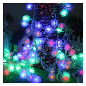 Gdtime Guirlandes Lumineuses 10M 100 LEDPerles Étanche Eclairage Décoration Festivals Noël Interieur Mariages avec 8 Modes d'éclairage