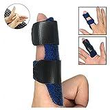 Attelle de doigt - Avec attaches réglables - Pour relâchement du tendon et soulagement de la douleur