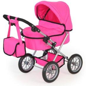 Bayer Design Cochecito de muñeca, Trendy, Color Rosa (13029)