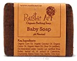 Rustic Art Organic Baby Soap, 100g