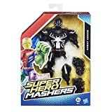 Hasbro B0872ES0 - Vendicatori Marvel Super Hero Masher 6 Pollici, capire Agente Venom