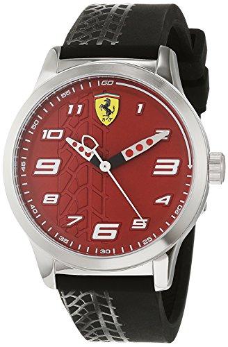 Scuderia Ferrari Orologio Analogico Quarzo Bambini con Cinturino in Silicone 840021
